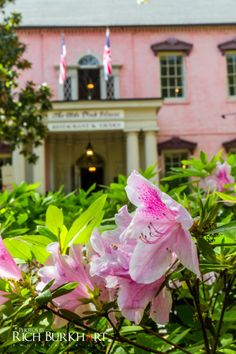 The Olde Pink House has a wonderful banquet room, perfect for a wedding reception. www.photosbyrb.com