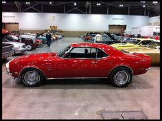 68 Camaro - the car my dad has and is restoring.