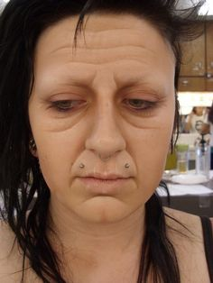 some terrific old age makeup