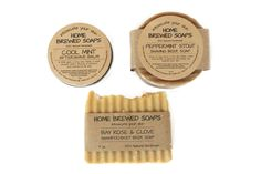 Shaving Gift Set for Men - Natural Grooming Products - Beer Soap