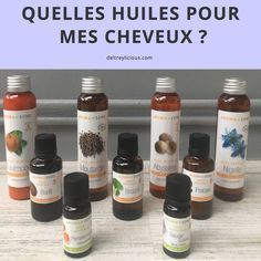 In this article, you-Quelles huiles pour mes cheveux ? Dans cet article, vous trouverez un petit guid… What oils for my hair? In this article you will find a small guide to the best oils for hair. Diy Hair Oil, Best Hair Oil, Natural Hair Care, Natural Hair Styles, Natural Beauty, Homemade Hair Treatments, Long Shag Haircut, Oil Treatment For Hair, Best Oils