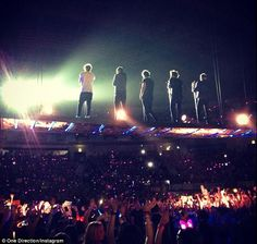 One Direction at Lisbon