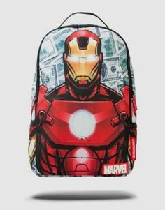 Marvel Iron Money Backpack        >>> Great deal   http://amzn.to/2bvhakX