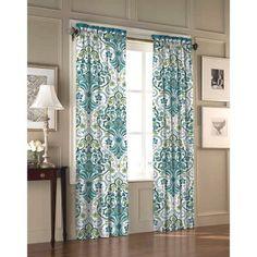 Stylenest Willa Curtain Panel Set Of Green