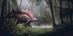 ArtStation - Stegosaurus, Kirill Khrol