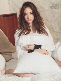f(x) Krystal - Elle Magazine June Issue '15