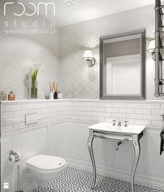 Łazienka styl Glamour - zdjęcie od ROOM STUDIO - Łazienka - Styl Glamour - ROOM STUDIO