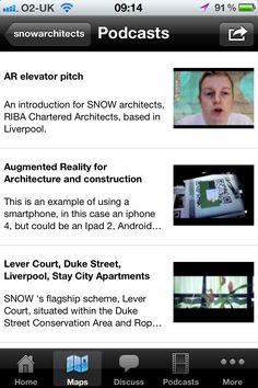 Podcast Page - Architect map mini app