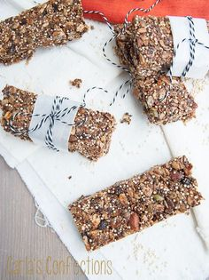 I'm really excited to have Carla from Carl's Confections here today to share with us her amazing Toasted Granola Bars. I'm especially excited by these because they are just the kind of snack that is perfect for a busy nursing mom! ~ Good morning! (or evening, or whatever time it happens to be while you...
