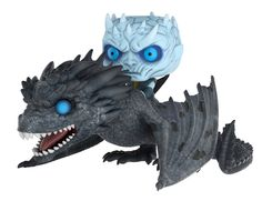 From game of Thrones, the night King riding Dragon as a collectible Funko pop! ride Product stands about 6 inches tall and comes in a window box display Perfect for any game of Thrones fan! collect all Funko game of Thrones figures! Pop Vinyl Figures, Funko Pop Figures, Funko Game Of Thrones, Pop Game Of Thrones, Michael Rooker, George Rr Martin, Baby Groot, Chewbacca, Nightmare Before Christmas