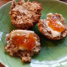 Gry´s Kjøkkenskriverier: Enkle scones i cupcakeform