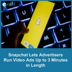 Snapchat is rolling out new options for advertisers, allowing them to run ads as long as three minutes.  The new ad units, called extended play commercials, can still be skipped after six seconds like other Snapchat ads. Extended-play commercials will be displayed as mid-roll ads, similar to shorter Snapchat commercials. Running Gif, Digital Marketing Trends, Advertising, Ads, Extended Play, Snapchat, Commercial, The Unit, Let It Be