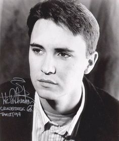 Teenage Wil Wheaton   WIL WHEATON PHOTO GALLERY #02 Wil Wheaton, Star Trek Ships, Young Actors, Famous Celebrities, Best Actor, Famous People, Movie Tv, Hot Guys, Photo Galleries