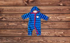 Boys Hooded Pajamas (Size: 6-9 Months)