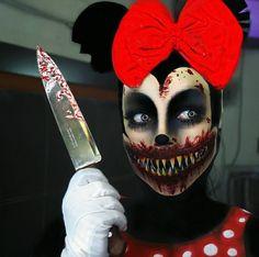 Creepy Halloween Makeup, Creepy Halloween Decorations, Scary Makeup, Sfx Makeup, Halloween Kostüm, Costume Makeup, Makeup Art, Face Paint Makeup, Theatrical Makeup