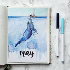 May is here which means it is time for a new cover! I decided to go for an ocean theme because i love love the ocean and its creatures.…