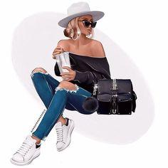 Fashion Illustration Sketches, Illustration Girl, Fashion Sketches, Illustrations, Diy Vetement, Fashion Photography Poses, Fashion Wall Art, Frou Frou, Art Girl