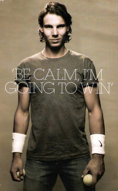 Amen! / Rafael Nadal / tennis