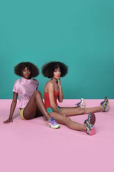 Girls of Blaze | Puma | Solange Knowles