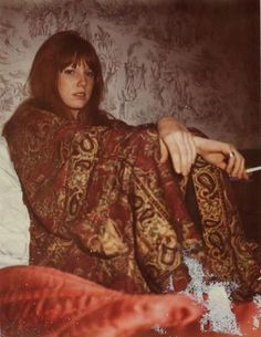 extremely rare picture of Pamela Courson, taken by Jim Morrison.
