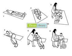 Hemiplegia - bed mobility