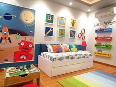 robot room for kids