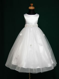 Angela Flower Girl Communion Dress $38