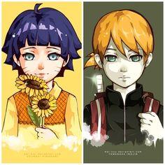Fanfic / Fanfiction de Naruto - Minha noiva de mentira - Capítulo 23 - Inojin... Himawari...