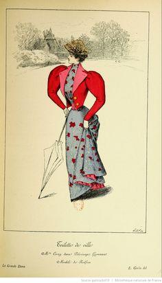 La Grande dame : revue de l'élégance et des arts / publiée sous la direction de F.G. Dumas | 1894 | Gallica