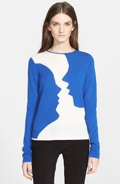 Creatures of the Wind 'Kara' Intarsia Knit Cashmere Sweater available at #Nordstrom