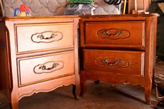 The Farmer's Nest: How to make a play kitchen set out of a pair of nightstands {DIY}....cute for a c hild...good information about installing a light into a bookcase or etcetera.