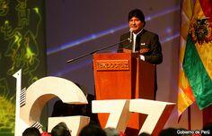 Evo Morales inaugura Cumbre del G77 China
