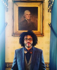 "Thomas Jefferson (Daveed Diggs (a. Act I: ""Marquis de Lafayette"") Hamilton Broadway, Hamilton Musical, Daveed Diggs, Hamilton Lin Manuel Miranda, Hamilton Fanart, Thomas Jefferson, Jefferson Hamilton, Alexander Hamilton, Coming Home"