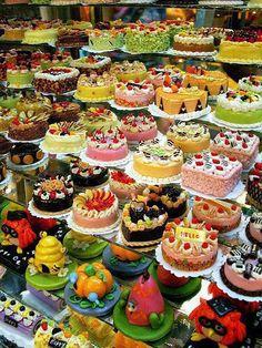 cakes.............