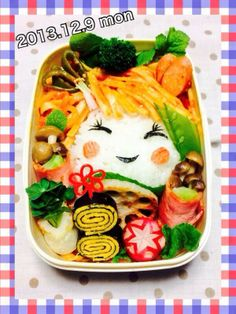 posted from @miki_teeeeeea @お弁当アート ~日本のお弁当文化~  my lunch★ #obentoart