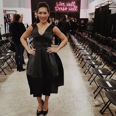 Favourite look from Tech Fashion Week opening reception & runway show #TFW2016 #FashionTech #FashTech by electric_runway