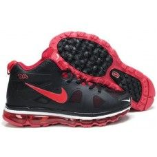 Nike air max griffeys fury 2012 black and red shoes for sale