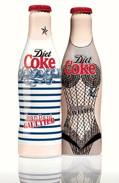 Here is a fun fact for you - Jean Paul Gaultier is the newly appointed Creative Director for the brand, so it comes at no surpise that he designed the pair with his own aesthetic in mind.  The pair represent a day and night version, which is reminiscent of JPG's signature fragrances, Le Male and Classique.