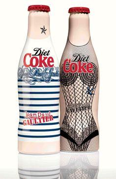 Diet Coke por Jean Paul Gaultier