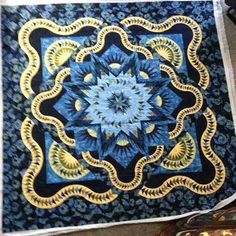 Glacier Star, Quiltworx.com, Made by Bonnie McClun