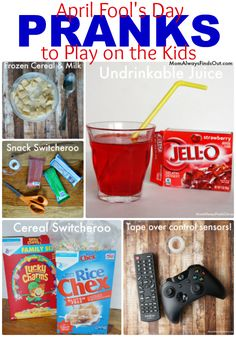 17 April Fools Day Pranks to Play on Your Kids - Easy and fun ideas at Mom Always Finds Out.