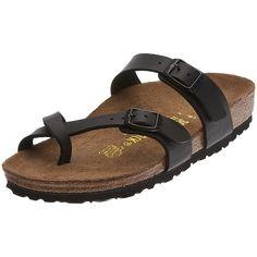 936c08e6f8f Birkenstock Mayari Birko-Flor - Sandals - Black