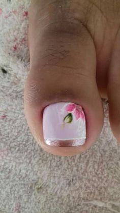 Pedicure Nail Designs, Toe Nail Designs, Manicure And Pedicure, Creative Nail Designs, Creative Nails, French Pedicure, Feet Nails, Toe Nail Art, Nail Arts