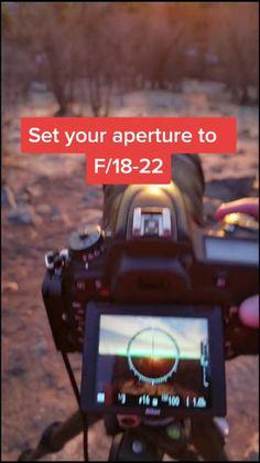 How to Capture Sunbursts!