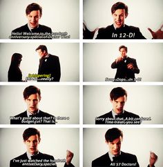 Introduction to The Day of the Doctor shown in cinemas