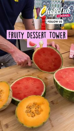 Frozen Desserts, Summer Desserts, Summer Recipes, Fruit Smoothie Recipes, Fruit Recipes, Dessert Recipes, Fun Baking Recipes, Cooking Recipes, Easy Dessert Bars