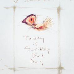 Today is Scribbly Bird Day | Carla Sonheim