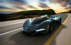 Maserati LaMaserati Car Project by Mark Hostler