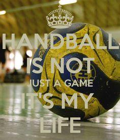 Handball it's my lifeI love handball