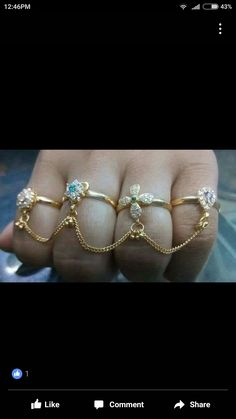 Gold Jewelry Simple, Gold Rings Jewelry, Hand Jewelry, Trendy Jewelry, Pendant Jewelry, Gemstone Jewelry, Beaded Jewelry, Gold Bangles Design, Gold Jewellery Design